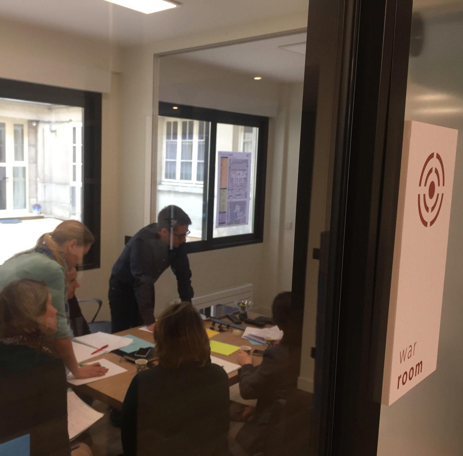 War Room formation dirigeants entreprise teambuilding leadership Pegasus Lorient