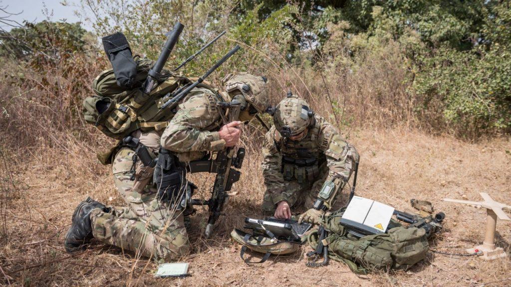 Forces spéciales opération marine commandos terrain communication management crise pandémie